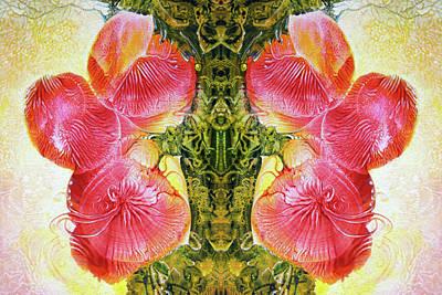 Bogomil Anniversary Flower - Digital Poster by Otto Rapp