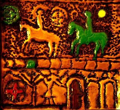 Bogomil Horsemen Warriors Poster