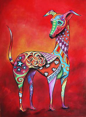 Italian Greyhound  Poster