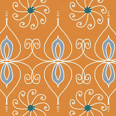 Boho Ornamental 1- Art By Linda Woods Poster