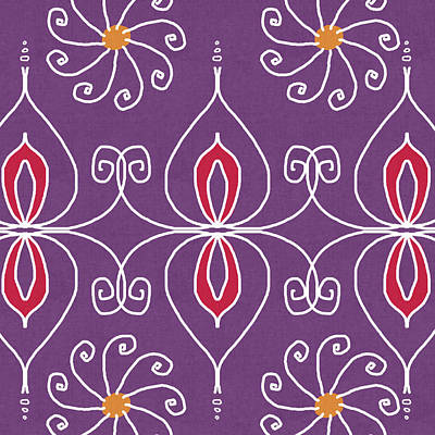 Boho Ornamental 2- Art By Linda Woods Poster
