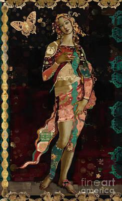 Boho Venus Poster by Carrie Joy Byrnes