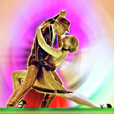Boisterous Dance. Passion. Love. Poster