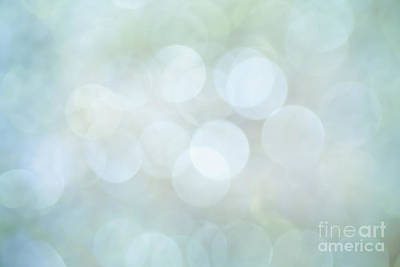 Poster featuring the photograph Bokeh Clouds by Jan Bickerton