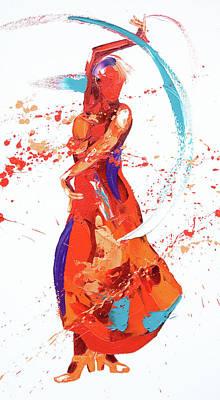 Bolero Poster by Penny Warden