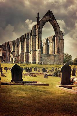 Bolton Abbey In The Uk Poster by Jaroslaw Blaminsky