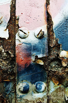 Bolts And Rust Poster by Ray Laskowitz - Printscapes