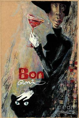 Bon Ami Poster by Una Lune