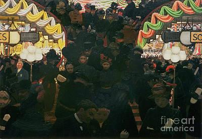 Bon Marche 1898 Poster
