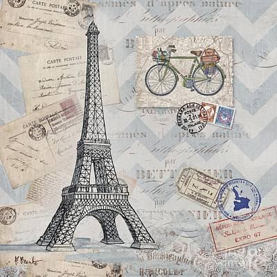 Bon Voyage I Poster