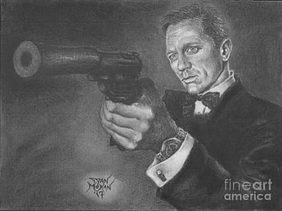 Bond Portrait Number 3 Poster