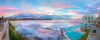Bondi Beach Icebergs Poster by Az Jackson