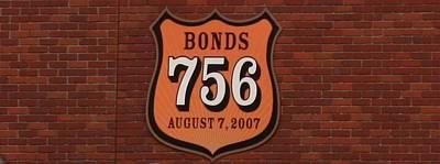 Bonds 756 Poster