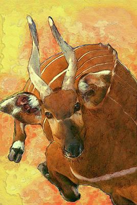 Bongo 2 Poster by Jack Zulli