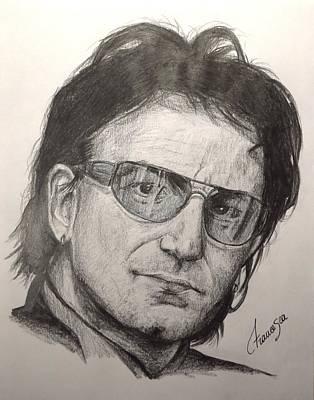 Bono Poster by Francesca Agostini