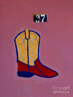 Boot 37 By Darian Day Poster