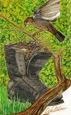 Bootnest Poster by Charles Valentine
