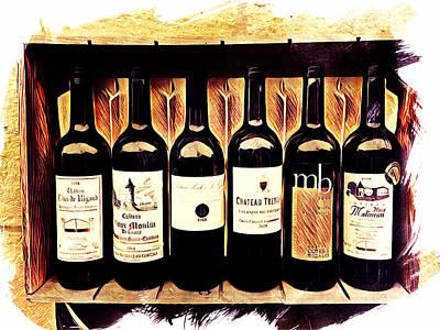 Bordeaux Sextet Poster