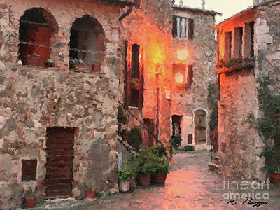 Borgo Medievale Poster
