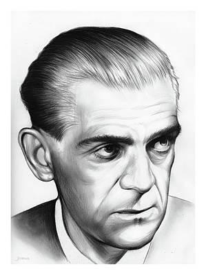 Boris Karloff Poster by Greg Joens