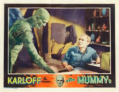 Boris Karloff In The Mummy 1932 Poster