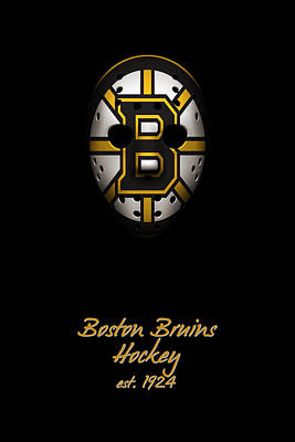 Boston Bruins Established Poster by Joe Hamilton