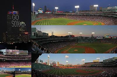 Boston Fenway Park And Red Sox Gift Ideas Poster
