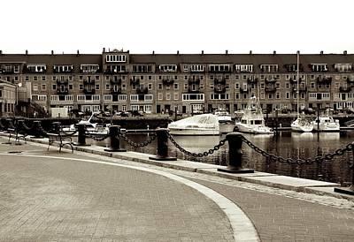 Boston Harbor Poster