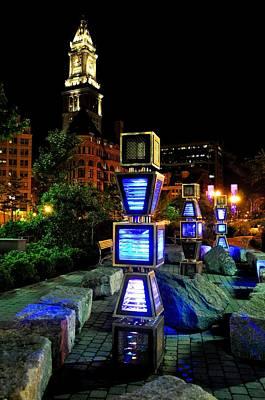 Boston Jetson Lights 1 Poster
