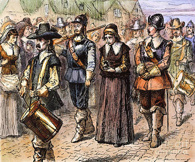 Boston: Mary Dyer, 1660 Poster