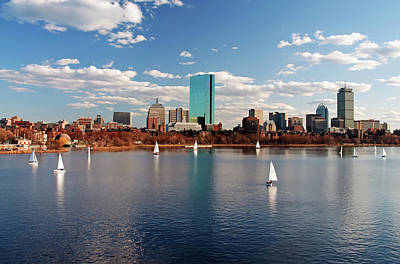 Boston On The Charles  Poster