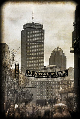 Boston Red Sox - Fenway Park - Lansdowne St. Poster by Joann Vitali