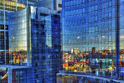 Boston Reflections Poster