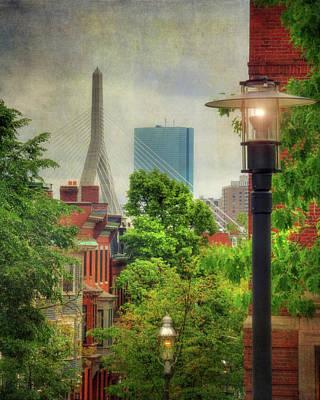 Boston Scenes - Charlestown, Ma Poster by Joann Vitali