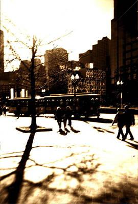 Boston Streetcar Poster