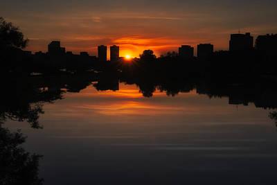 Boston Sunrise Poster