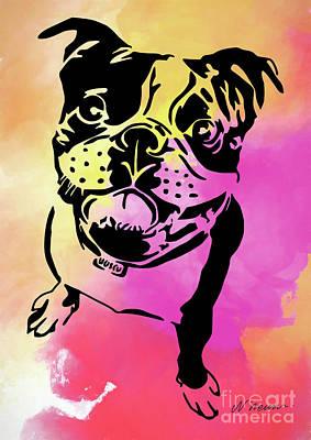 Boston Terrier Art By Nikki And Kaye Menner Poster