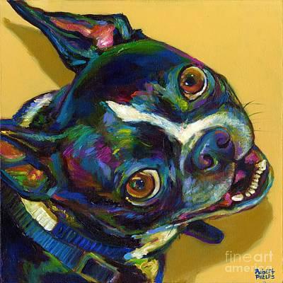 Boston Terrier Poster by Robert Phelps