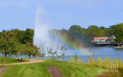 Botanic Rainbow Poster