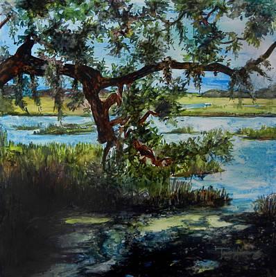 Botany Bay Summer Marsh Poster by Trish McKinney