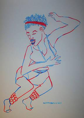 Botswana Traditional Dance Poster