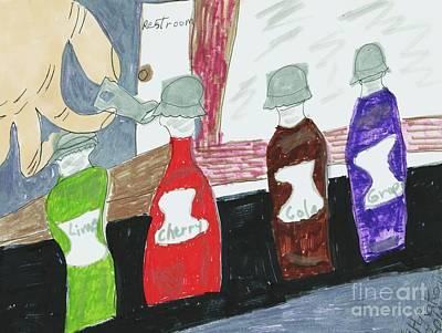 Bottle Caps Poster