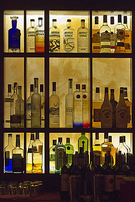 Poster featuring the photograph Bottle Works by Ron Dubin