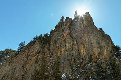 Poster featuring the photograph Boulder Canyon Narrows Pinnacle by James BO Insogna