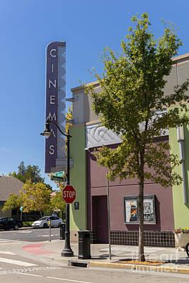 Boulevard Cinemas Theater In Petaluma California Usa Dsc3828 Poster by Wingsdomain Art and Photography