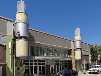Boulevard Cinemas Theater In Petaluma California Usa Dsc3830 Poster by Wingsdomain Art and Photography