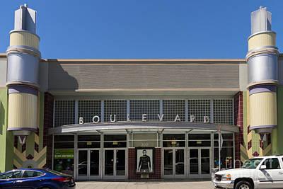 Boulevard Cinemas Theater In Petaluma California Usa Dsc3831 Poster by Wingsdomain Art and Photography