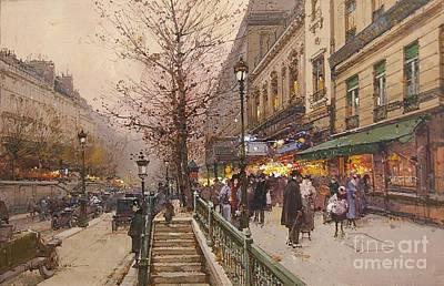 Boulevard Saint Martin Poster