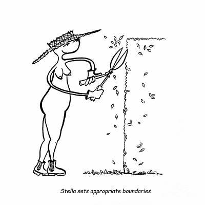 Boundaries Poster by Leanne Wilkes