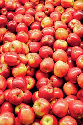 Bountiful Apples Poster by Todd Klassy